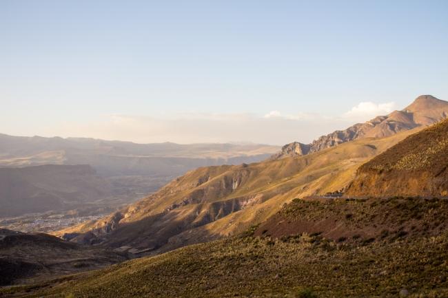 W drodze do Arequipy i Chivay, czyli szalona jazda po Peru