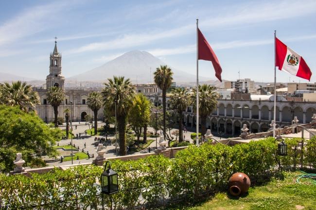 Arequipa: przepięknie położone miasto w Peru