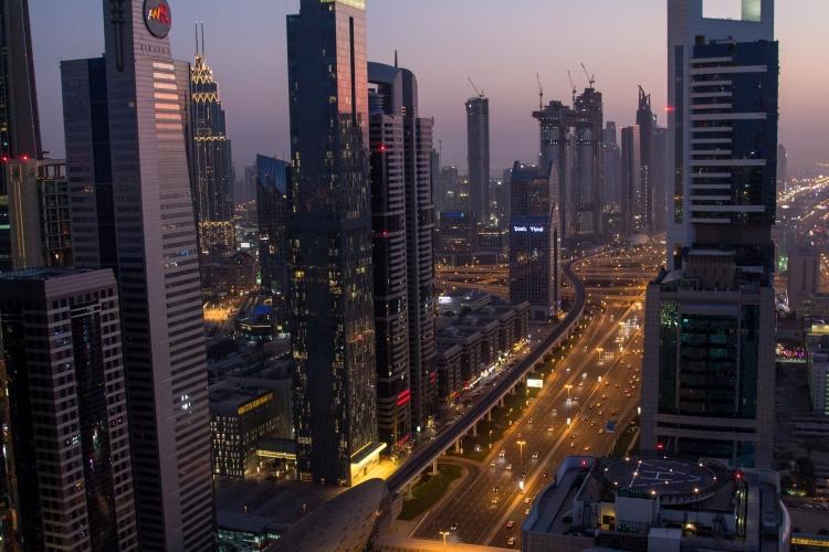 Dubai Marina – spacer wśród wieżowców