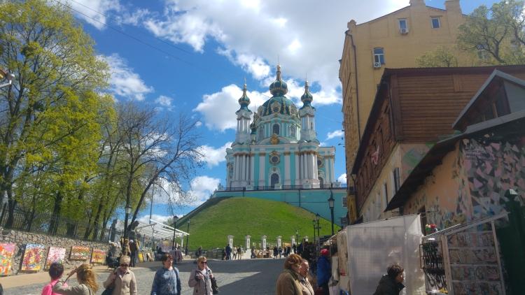 Drugi dzień w Kijowie