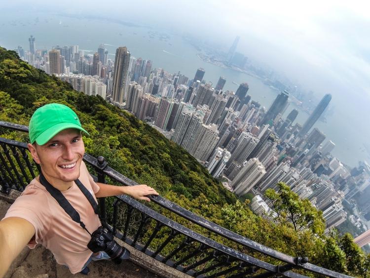 Hong Kong: poranny jogging na Victoria Peak!
